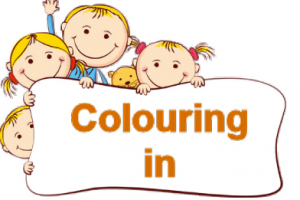Colouring in for kids