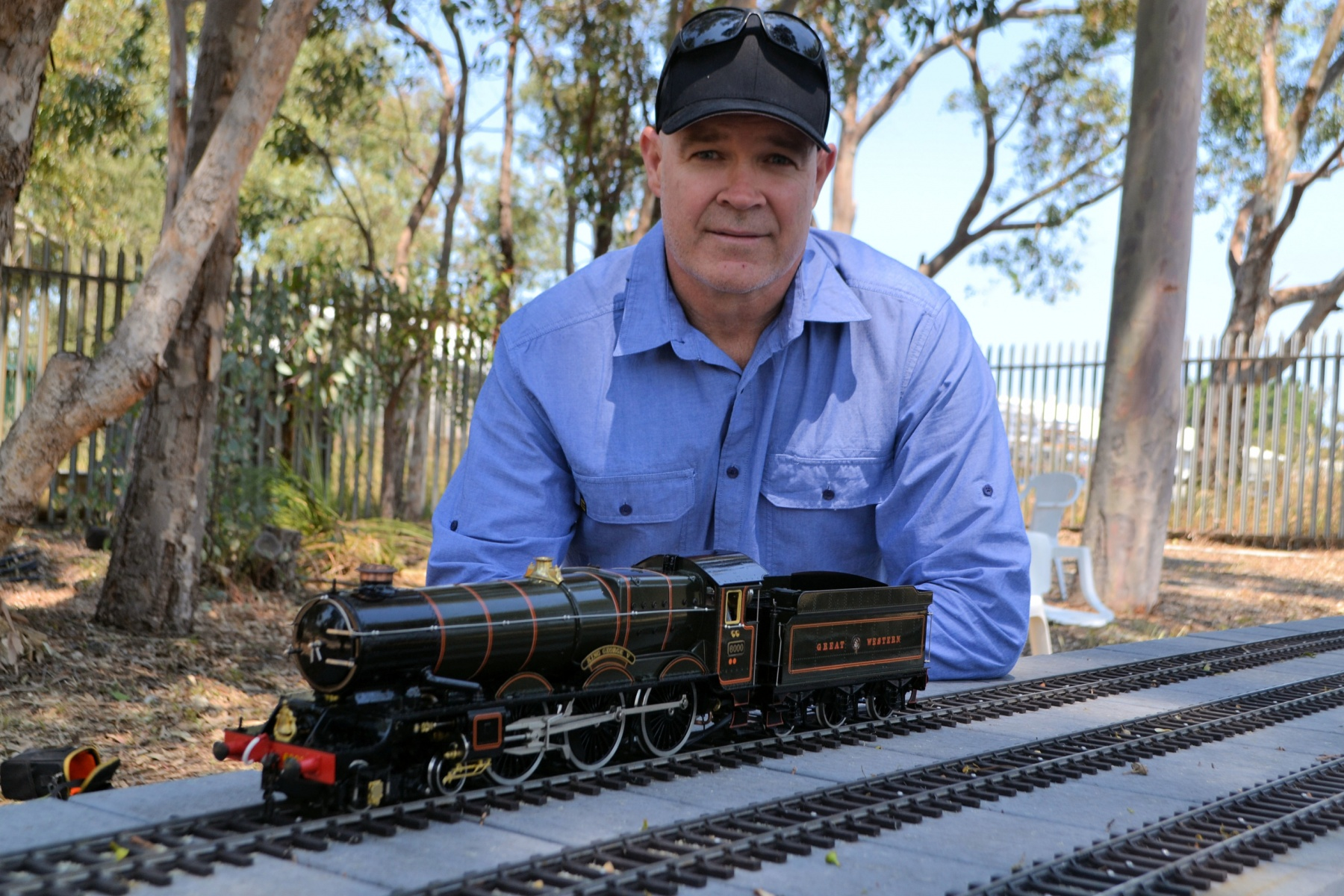 Clayton Austin and his Great Western